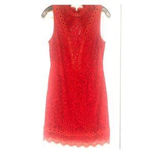 Free People Saylor Red Minidress